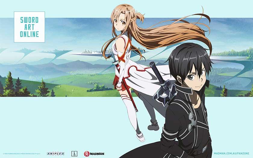 Sword Art Online distributed by Madman Australia